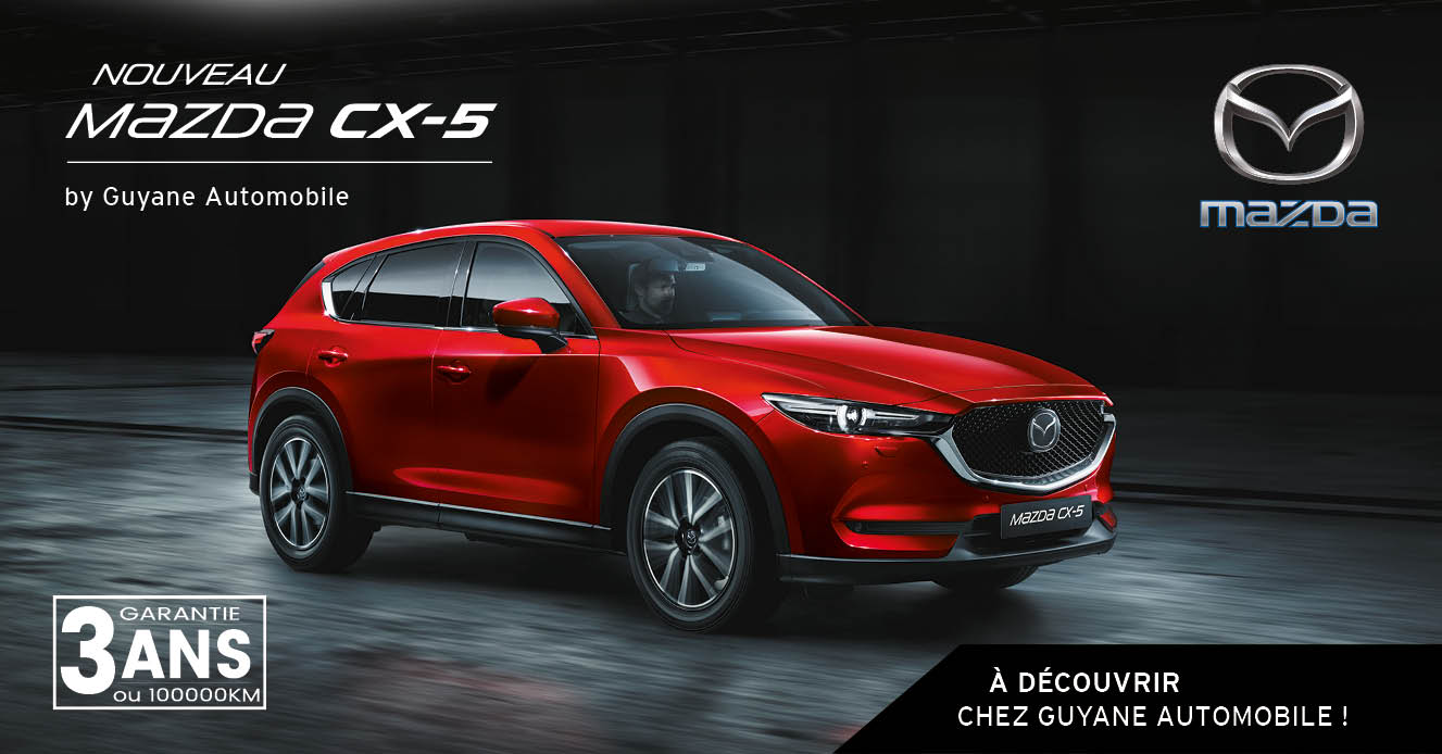 d couvrez le nouveau mazda cx 5 guyane automobile actualit s webtv. Black Bedroom Furniture Sets. Home Design Ideas