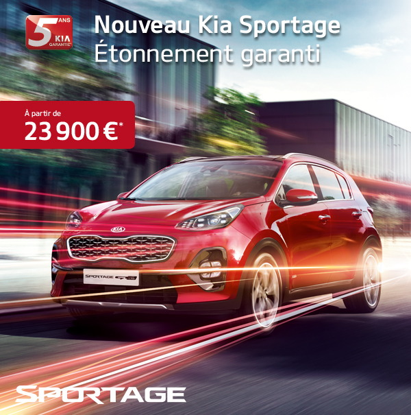 kia stonic et nouveau kia sportage chez guyane automobile guyane automobile actualit s webtv. Black Bedroom Furniture Sets. Home Design Ideas